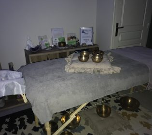 Massage aux bols tibetains